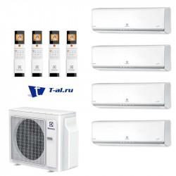 Мульти сплит-система Electrolux EACO/I-28FMI-4/N3_ERP+ EACS/I-07HМFMI/N3_ERP*4шт