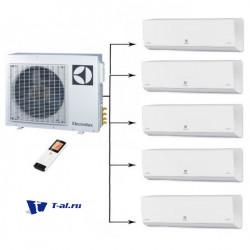 Мульти сплит-система Electrolux EACO/I-42FMI-5/N3_ERP+ EACS/I-09HPFMI/N3_ERP*5шт