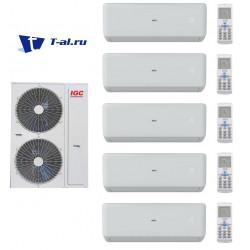 Мульти сплит-система IGC RAM5-M42UNH+ RAK-X09NH*5шт