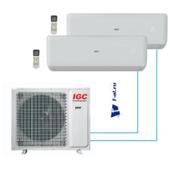 Мульти сплит-система IGC RAM2-M14UNH+ RAK-X07NH*2шт