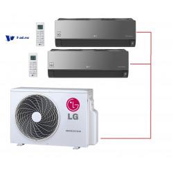 Мульти сплит-система LG MU2M15.UL4R0+ AM07BP.NSJR0*2шт