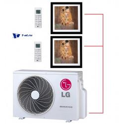 Мульти сплит-система LG MU2M17.UL4R0+ MA09AH1.NF1R0*2шт