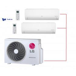 Мульти сплит-система LG MU2M15.UL4R0+ DM07RP.NSJR0*2шт