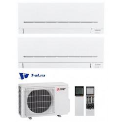 Мульти сплит-система Mitsubishi Electric MXZ-2D33VA+ MSZ-AP15VG+ MSZ-AP20VG
