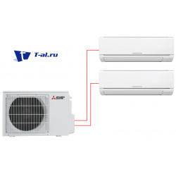 Mitsubishi Electric MSZ-DM25VA×2 / MXZ-2DM40VA
