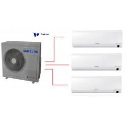 Мульти сплит-система Samsung AJ025RBTDEH/AF *3 + AJ068FCJ3EH/EU